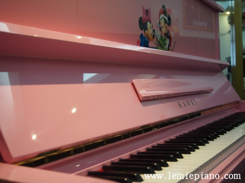 kawai k20粉红色 kawai 钢琴展厅 深圳二手钢琴|深圳